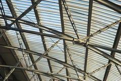 τραίνο δομών σταθμών στοκ εικόνες με δικαίωμα ελεύθερης χρήσης