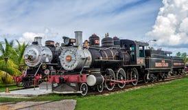 Τραίνο ζάχαρης τουριστών, Σάντα Κλάρα, Κούβα Στοκ Εικόνα