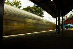 Τραίνο θαμπάδων στοκ εικόνες