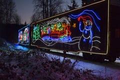 Τραίνο διακοπών CP Στοκ εικόνες με δικαίωμα ελεύθερης χρήσης