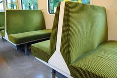τραίνο καθισμάτων Στοκ φωτογραφία με δικαίωμα ελεύθερης χρήσης