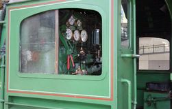 τραίνο καμπινών Στοκ εικόνα με δικαίωμα ελεύθερης χρήσης