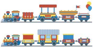 τραίνο κατσικιών σχεδίου Στοκ Φωτογραφίες