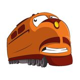 Τραίνο κινούμενων σχεδίων Στοκ Εικόνες