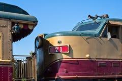 Τραίνο κρασιού Napa Στοκ Εικόνα