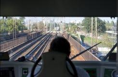 τραίνο μηχανικών στοκ φωτογραφία