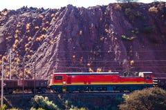 Τραίνο ορυχείου Στοκ Φωτογραφίες