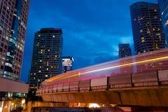 Τραίνο ουρανού στη Μπανγκόκ Ταϊλάνδη Στοκ φωτογραφίες με δικαίωμα ελεύθερης χρήσης