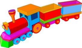 τραίνο παιχνιδιών ελεύθερη απεικόνιση δικαιώματος