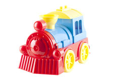 τραίνο παιχνιδιών στοκ εικόνες