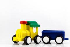 τραίνο παιχνιδιών πηούτερ επιστολών Στοκ εικόνες με δικαίωμα ελεύθερης χρήσης