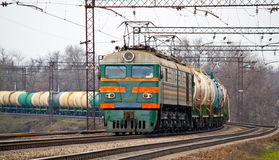 τραίνο πετρελαίου φορτίου Στοκ φωτογραφία με δικαίωμα ελεύθερης χρήσης