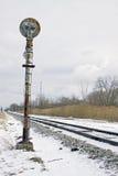 τραίνο σημάτων Στοκ φωτογραφία με δικαίωμα ελεύθερης χρήσης