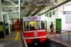 Τραίνο σηράγγων της Ιστανμπούλ Στοκ Εικόνες
