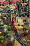 Τραίνο σιδηροδρόμου κήπων Στοκ Εικόνα