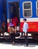 Τραίνο σιδηροδρόμων του Βιετνάμ Στοκ φωτογραφία με δικαίωμα ελεύθερης χρήσης