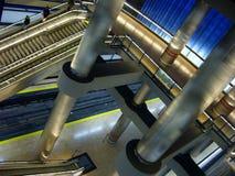 τραίνο στάσεων σταθμών Στοκ εικόνες με δικαίωμα ελεύθερης χρήσης