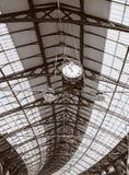 τραίνο σταθμών ανώτατων στε Στοκ φωτογραφίες με δικαίωμα ελεύθερης χρήσης