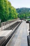 τραίνο σταθμών Στοκ εικόνες με δικαίωμα ελεύθερης χρήσης