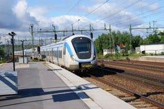 τραίνο σταθμών Στοκ φωτογραφία με δικαίωμα ελεύθερης χρήσης