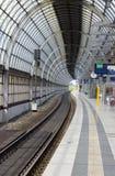 τραίνο σταθμών στοκ εικόνα