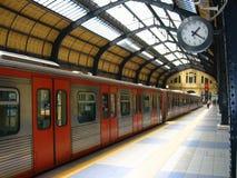 τραίνο σταθμών Στοκ Εικόνες