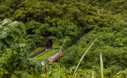 Τραίνο στην Ταϊβάν Στοκ φωτογραφία με δικαίωμα ελεύθερης χρήσης