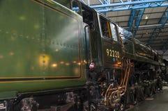Τραίνο στο εθνικό μουσείο σιδηροδρόμων στην Υόρκη, Γιορκσάιρ Αγγλία Στοκ Φωτογραφίες