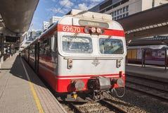 Τραίνο στο σταθμό στοκ φωτογραφία με δικαίωμα ελεύθερης χρήσης
