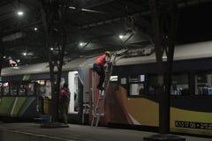 Τραίνο συντήρησης Στοκ Εικόνες