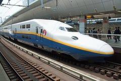 Τραίνο σφαιρών Shinkansen Στοκ Εικόνες