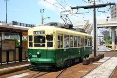 Τραίνο της Ιαπωνίας Ναγκασάκι Στοκ Φωτογραφία