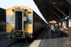 τραίνο της Ταϊλάνδης Στοκ Εικόνες