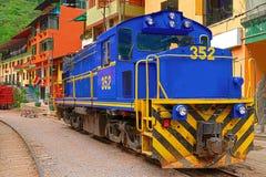 Τραίνο του Περού Machu Picchu στοκ εικόνα