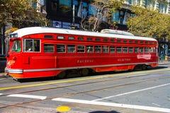 Τραίνο του Σαν Φρανσίσκο Στοκ Φωτογραφία