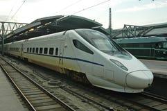 τραίνο υψηλής ταχύτητας τη&s Στοκ εικόνες με δικαίωμα ελεύθερης χρήσης