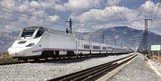 Τραίνο υψηλής ταχύτητας Στοκ φωτογραφίες με δικαίωμα ελεύθερης χρήσης