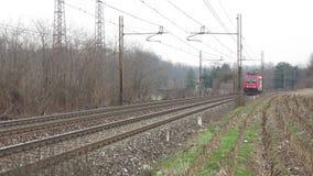 Τραίνο φορτίου απόθεμα βίντεο