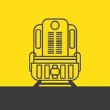 Τραίνο φορτίου Στοκ Εικόνες