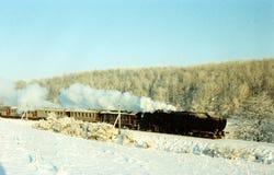 Τραίνο Χριστουγέννων Στοκ Εικόνες