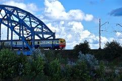 Τραίνο χρωμάτων Στοκ φωτογραφίες με δικαίωμα ελεύθερης χρήσης