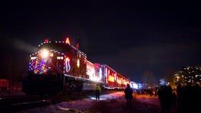 Τραίνο διακοπών Στοκ εικόνες με δικαίωμα ελεύθερης χρήσης