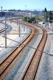 τραίνο 2 διαδρομών Στοκ εικόνες με δικαίωμα ελεύθερης χρήσης