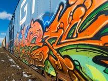 Τραίνο Στοκ φωτογραφία με δικαίωμα ελεύθερης χρήσης