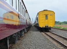 2 τραίνο Στοκ φωτογραφία με δικαίωμα ελεύθερης χρήσης
