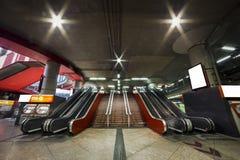 Τραίνο Atocha σταθμών Μαδρίτη Ισπανία Στοκ εικόνα με δικαίωμα ελεύθερης χρήσης