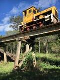 Τραίνο Bundaburg Queensland καλάμων στοκ φωτογραφία με δικαίωμα ελεύθερης χρήσης