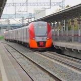 Τραίνο Lastochka στοκ εικόνες με δικαίωμα ελεύθερης χρήσης