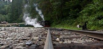 τραίνο «mocanita» - Maramures Στοκ εικόνα με δικαίωμα ελεύθερης χρήσης