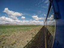 Τραίνο Puno πολυτέλειας Στοκ Εικόνες